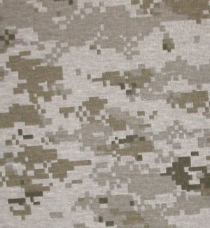 Desert Camouflage Pattern Seamlessly Tileable Stock Photo